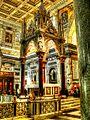 Basilica di S. Paolo Fuori le Mura --- Das Ziborium über dem Grabe des Apostels Paul (8175164457).jpg