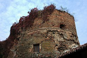 Bassignana - Remains of the castle.