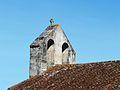 Bassillac église clocher-mur.JPG