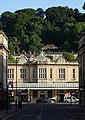 Bath Spa Station and Beechen Cliff.jpg