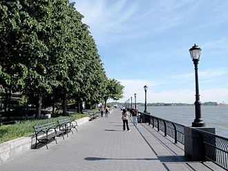 Battery Park City - The esplanade