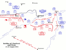 Battle of Mons - Wikipedia on living in mons belgium, world map brussels belgium, map of france in ww1, charleroi belgium, shape belgium, map of sandhurst, map of mons brussels, map of mons france, map of hayling island, map of ludgershall,