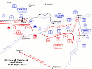 Battle of Charleroi - Battle of Charleroi
