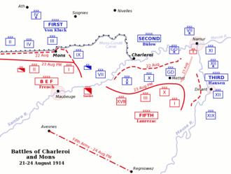 Battle of Charleroi - Battle of Charleroi