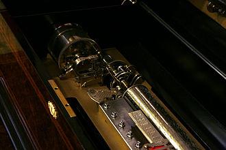 Music box - A music box