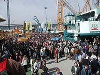 Bauma exhibition 2004 outdoor 04.jpg