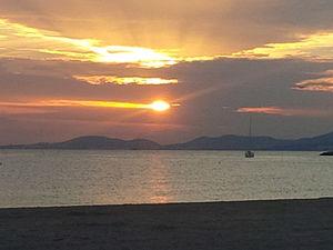 Bay of Palma - Sunset at the Bay of Palma
