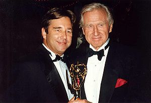 Beau Bridges - Bridges with his father Lloyd in 1992