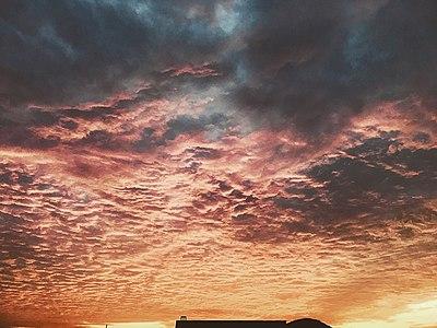 Beautiful clouds during sunset at Visakhapatnam 1.jpg