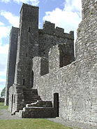 Bective Abbey Side