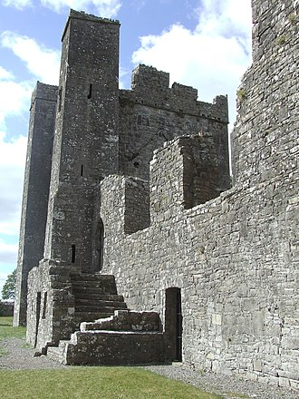 Bective Abbey - Image: Bective Abbey Side
