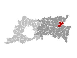 Bekkevoort - Image: Bekkevoort Locatie