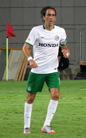 Yossi Benayoun - Benayoun playing for Maccabi Haifa in 2015