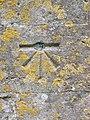 Bench Mark, St Bartholomew's Church - geograph.org.uk - 2018277.jpg