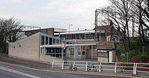 Benfleet railway station - Image: Benfleet railway station front