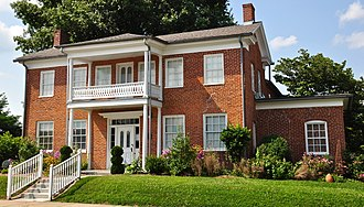 National Register of Historic Places listings in Cape Girardeau County, Missouri - Image: Bennett Tobler Pace Oliver House