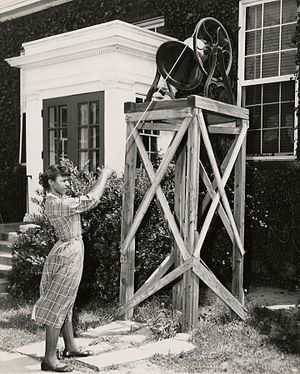 Bennett College - The bell once served as a clock for the student body, letting them know class and meal times.