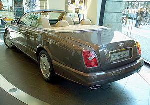 Bentley Azure - Rear view of 2007 Azure