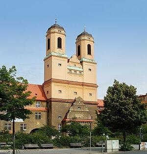 Baumschulenweg - Image: Berlin church 'Zum Vaterhaus' 2 (aka)