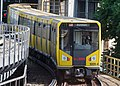 Berlin U-Bahn HK Train entering Gleisdreieck Station 20130718 13.jpg