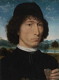 Bernardo Bembo, staatsman en ambassadeur van Venetië, Hans Memling,( 1471-1474), Koninklijk Museum voor Schone Kunsten Antwerpen, 5.jpg