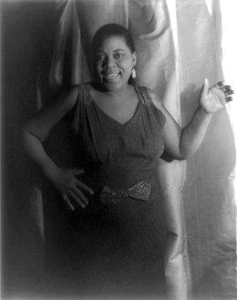 Portrait of Bessie Smith, 1936