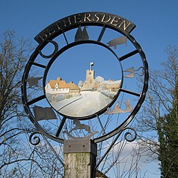 Bethersden Village Sign, Bethersden, Kent - geograph.org.uk - 1137334