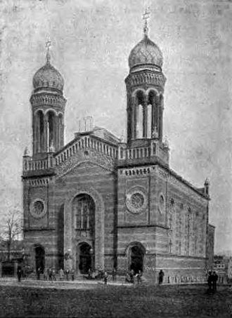 Bytom Synagogue - Beuthen Synagogue about 1904