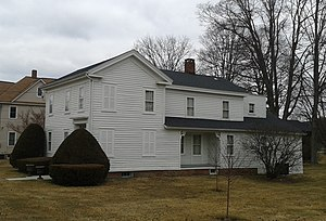 National Register of Historic Places listings in Broome County, New York - Image: Bevier Wright House