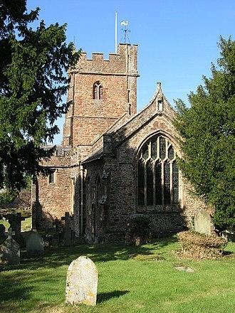 West Somerset - Image: Bicknoller church