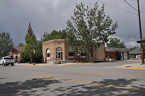Big Piney, Wyoming - City hall