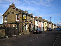 Biggleswade, Lawrence Road and The Wheatsheaf public house - geograph.org.uk - 610036.jpg