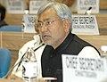 Bihar Chief Minister Shri Nitish Kumar, addressing at the National Development Council 52nd Meeting, at Vigyan Bhawan, New Delhi on December 9, 2006.jpg