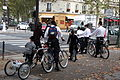 Bikers, Avenue Duquesne, Paris October 2009.jpg