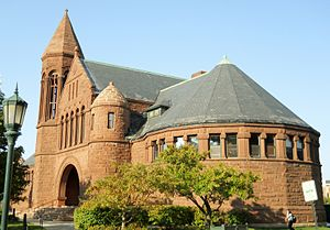 University of Vermont - The Billings Memorial Library was built in 1883 and was the university's library until 1961 when the larger Guy W. Bailey library was built. Since then, it has served miscellaneous purposes.