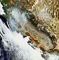Billowing smoke from Northern California wildfires.jpg