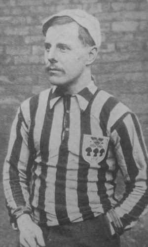 Billy Mosforth - Billy Mosforth in his United kit