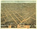 Bird's eye view of the city of Lexington, Fayette County, Kentucky 1871. LOC 73693414.tif