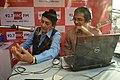 Biswajit Deb Chatterjee - Radio Interview - 92-7 Big FM Pavilion - 38th International Kolkata Book Fair - Milan Mela Complex - Kolkata 2014-02-09 8723.JPG