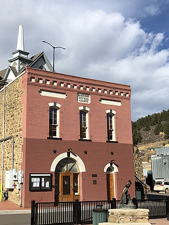 Black Hawk, Colorado - Black Hawk City Hall, built in 1877