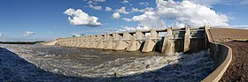 Bloemhof Dam. View from the Freestate side.jpg