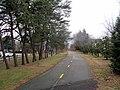 Bluemont Junction Trail near North Edison Street, January 2017.JPG