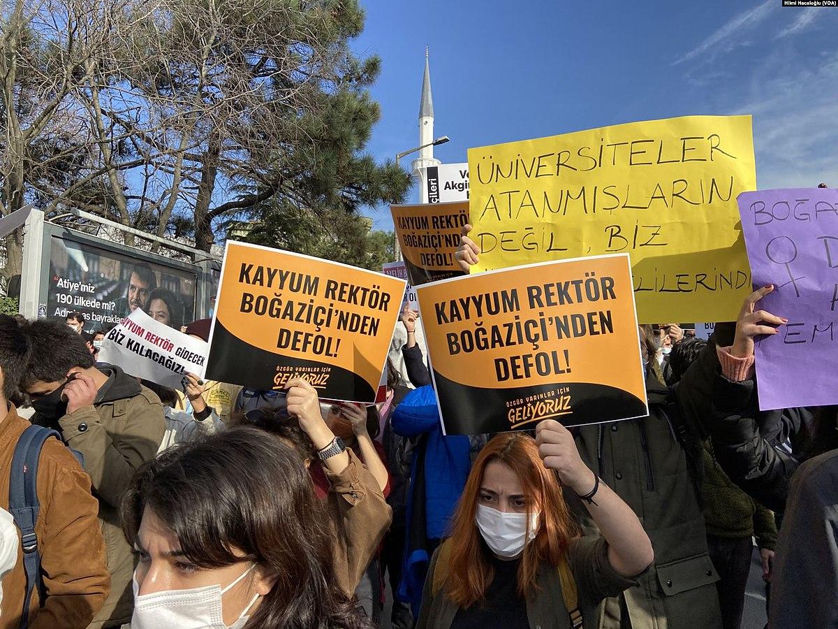 2021 Boğaziçi University protests - Wikipedia