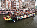 Boat 62 Cafe 't Achterom, Canal Parade Amsterdam 2017 foto 3.JPG