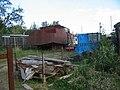 Boat Repairs in Westhay Wood - geograph.org.uk - 255985.jpg