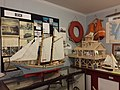 Boat and lighthouse models, Tangier History Museum.jpg
