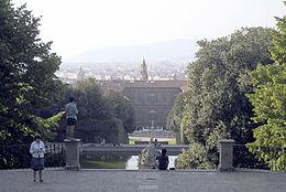 Giardino di boboli firenze parco storico a palazzo pitti