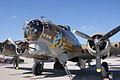 Boeing B-17G-85-DL Flying Fortress Nine-O-Nine LFrontNose CFatKAM 09Feb2011 (14960923026).jpg
