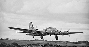 RAF Polebrook - Boeing B-17G-95-BO Fortress 43-38846, 351st Bombardment Group