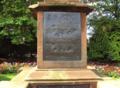 Boer War memorial plaque, Victoria Park, Ormskirk - DSC09248.PNG